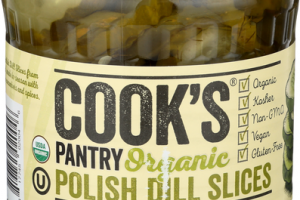 POLISH DILL SLICES