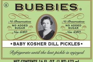 BABY KOSHER DILL PICKLES