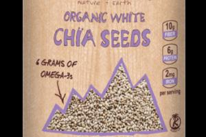 PLANT-BASED ORGANIC WHITE CHIA SEEDS