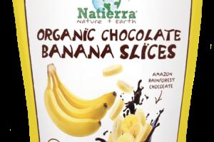 ORGANIC CHOCOLATE BANANA SLICES