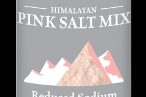 REDUCED SODIUM HIMALAYAN FINE PINK SALT MIX