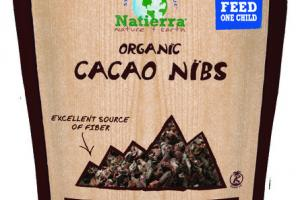 ORGANIC PLANT-BASED CACAO NIBS