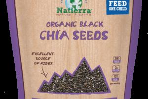 ORGANIC PLANT-BASED BLACK CHIA SEEDS