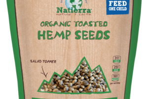 ORGANIC TOASTED HEMP SEEDS