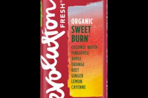 ORGANIC SWEET BURN COCONUT WATER, PINEAPPLE, APPLE, ORANGE, BEET, GINGER, LEMON, CAYENNE FRUIT & VEGETABLE JUICE BLEND