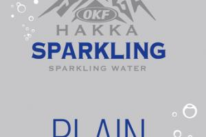 PLAIN SPARKLING WATER