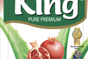 POMEGRANATE FLAVORED PURE PREMIUM ALOE DRINK