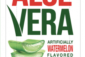 WATERMELON FLAVORED FARMER'S ALOE VERA DRINK