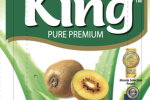 GOLD KIWI FLAVORED PURE PREMIUM ALOE DRINK