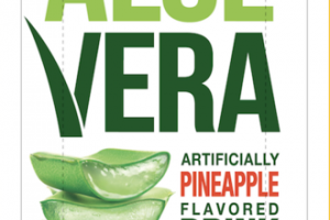 PINEAPPLE FLAVORED FARMER'S ALOE VERA DRINK