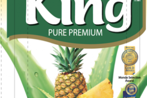 NATURAL FLAVORED PINEAPPLE PURE PREMIUM ALOE DRINK