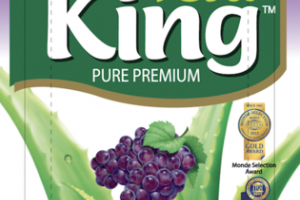 NATURAL GRAPE FLAVORED PURE PREMIUM ALOE DRINK