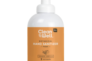 BOTANICAL FOAM HAND SANITIZER, ORANGE VANILLA
