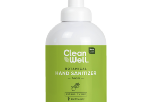 BOTANICAL HAND SANITIZER FOAM, CITRUS THYME