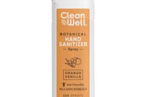 BOTANICAL HAND SANITIZER SPRAY, ORANGE VANILLA