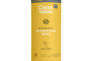 BOTANICAL DISINFECTING WIPES, LEMON