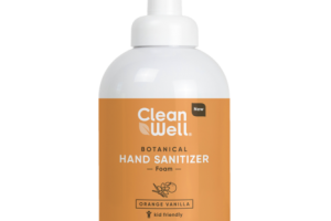 BOTANICAL HAND SANITIZER FOAM, ORANGE VANILLA