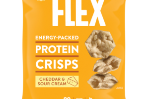 CHEDDAR & SOUR CREAM ENERGY-PACKED PROTEIN CRISPS