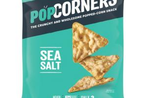 SEA SALT THE CRUNCHY AND WHOLESOME POPPED-CORN SNACK