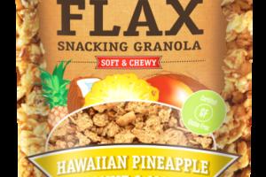 HAWAIIAN PINEAPPLE COCONUT & MANGO GLUTEN-FREE FLAX SNACKING GRANOLA
