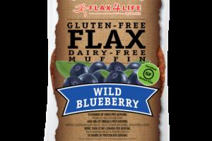 GLUTEN-FREE WILD BLUEBERRY FLAX DAIRY-FREE MUFFIN