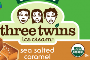 ORGANIC SEA SALTED CARAMEL ICE CREAM