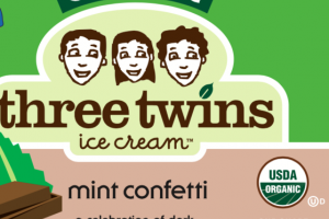 ORGANIC MINT CONFETTI ICE CREAM