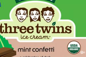 ORGANIC MINT CONFETTI ICE CREAM