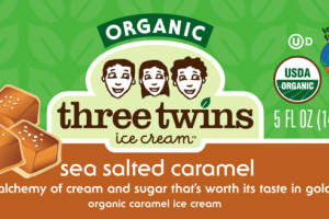 SEA SALTED CARAMEL AN ALCHEMY OF CREAM AND SUGAR THAT'S WORTH ITS TASTE IN GOLD ORGANIC CARAMEL ICE CREAM