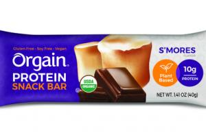 S'MORES FLAVOR PLANT BASED PROTEIN SNACK BAR
