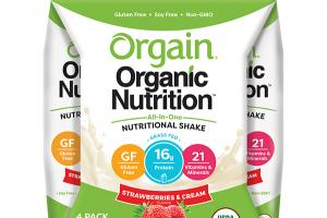 STRAWBERRIES & CREAM FLAVOR ALL-IN-ONE NUTRITIONAL SHAKE