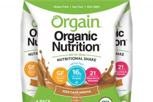 ICED CAFE MOCHA FLAVOR ALL-IN-ONE NUTRITIONAL SHAKE