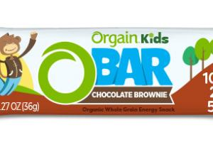 CHOCOLATE BROWNIE KIDS ORGANIC WHOLE GRAIN ENERGY SNACK BAR