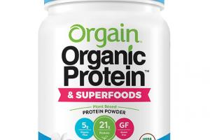 VANILLA BEAN ORGANIC & SUPERFOODS PROTEIN POWDER