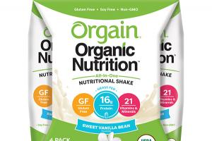 SWEET VANILLA BEAN FLAVOR ALL-IN-ONE NUTRITIONAL SHAKE
