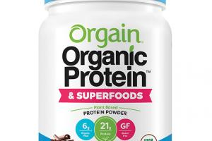 CREAMY CHOCOLATE FUDGE ORGANIC PROTEIN & SUPERFOODS PROTEIN POWDER