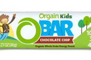 CHOCOLATE CHIP ORGANIC WHOLE GRAIN ENERGY SNACK O BAR