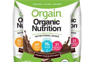 CREAMY CHOCOLATE FUDGE FLAVOR ALL-IN-ONE NUTRITIONAL SHAKE