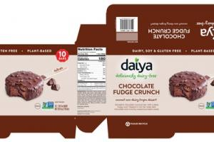 CHOCOLATE FUDGE CRUNCH COCONUT NON-DAIRY FROZEN DESSERT