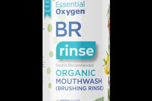 BR RINSE ORGANIC MOUTHWASH (BRUSHING RINSE) PEPPERMINT