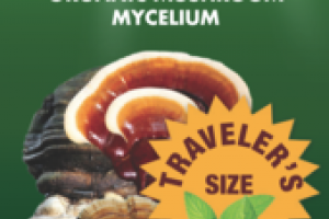 ORGANIC MUSHROOMS MYCELIUM IMMUNE SUPPORT GLUTEN FREE DIETARY SUPPLEMENT SPRAY, PEPPERMINT