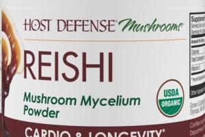 MUSHROOMS MYCELIUM CARDIO & LONGEVITY DIETARY SUPPLEMENT POWDER