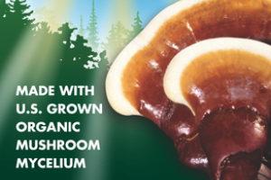 ORGANIC MUSHROOMS MYCELIUM LONGEVITY SUPPORT GLUTEN FREE DIETARY SUPPLEMENT VEGETARIAN CAPSULES