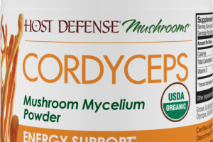 MUSHROOMS MYCELIUM ENERGY SUPPORT DIETARY SUPPLEMENT POWDER
