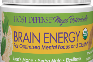 BRAIN ENERGY FOR OPTIMIZED MENTAL FOCUS AND CLARITY DIETARY SUPPLEMENT