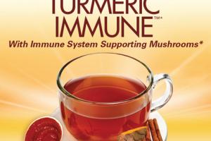CAFFEINE FREE TURMERIC IMMUNE DIETARY SUPPLEMENT TEA BAGS