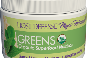 GREENS ORGANIC SUPERFOOD NUTRITION DIETARY SUPPLEMENT