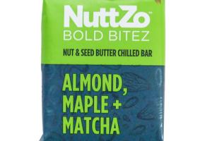 ALMOND, MAPLE + MATCHA NUT & SEED BUTTER CHILLED BOLD BITEZ BAR