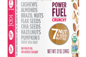 POWER FUEL CRUNCHY 7 NUT & SEED BUTTER