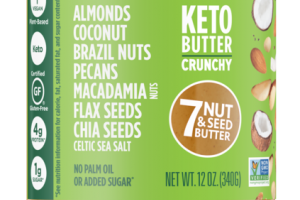 KETO BUTTER CRUNCHY 7 NUT & SEED BUTTER